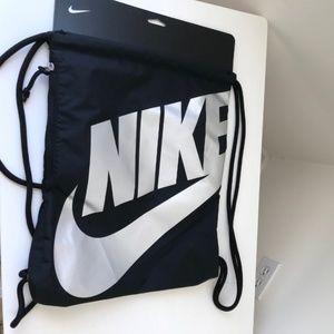 Nike Drawstring Backpack New Black
